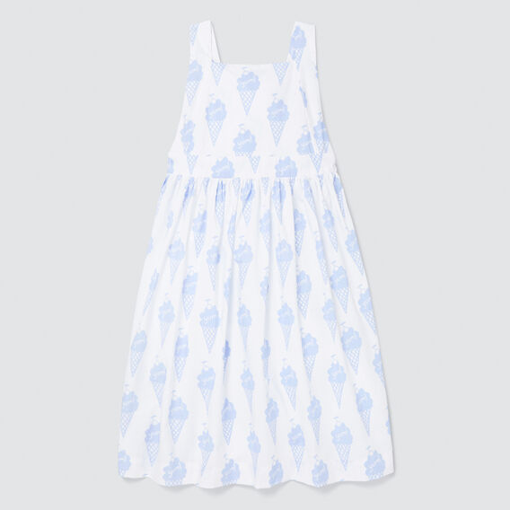 Ice Cream Yardage Dress  WHITE  hi-res