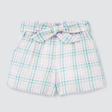Gingham Shorts  MULTI  hi-res