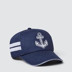 Anchor Cap  MIDNIGHT BLUE  hi-res
