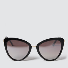 Eleanor Fashion Sunglasses  BLACK  hi-res