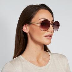 Farrah Round Sunglasses  GOLD  hi-res