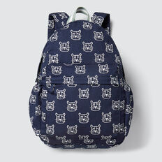 Leopard Backpack  MIDNIGHT BLUE  hi-res