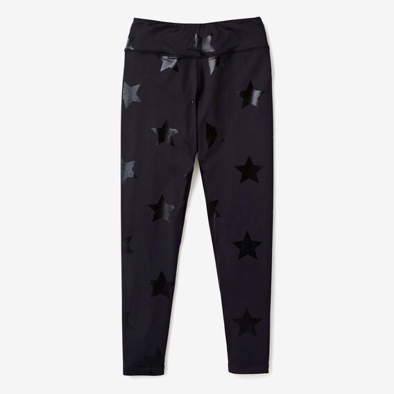 Star Legging  BLACK  hi-res