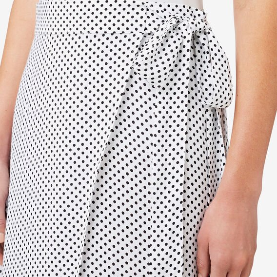Spot Wrap Skirt  SPOT  hi-res