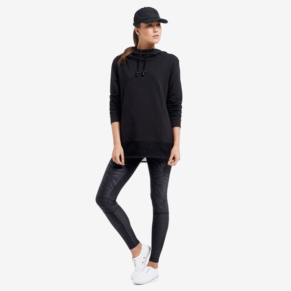 Mesh Windcheater  BLACK  hi-res