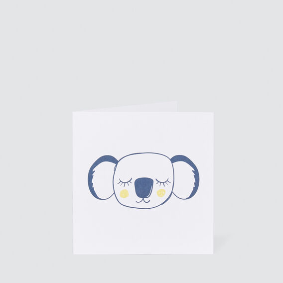 Small Koala Card  MULTI  hi-res