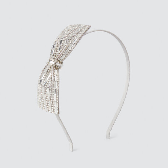 Deco Jewel Headband  SILVER  hi-res