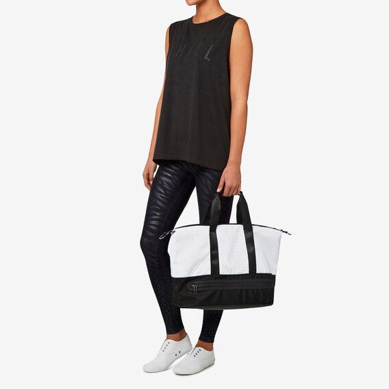 Workout Bag  BLACK/WHITE  hi-res