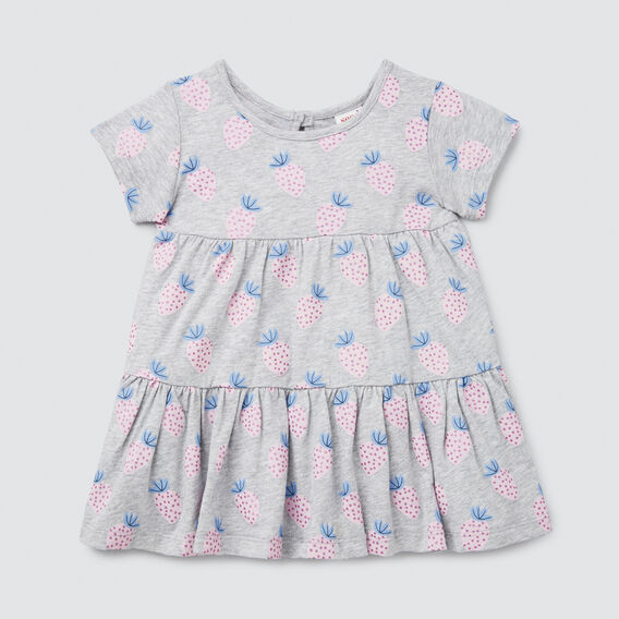 Strawberry Yardage Dress  CLOUD  hi-res