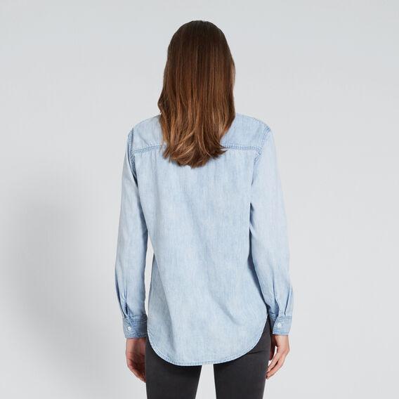 Denim Shirt  PASTEL DENIM WASH  hi-res