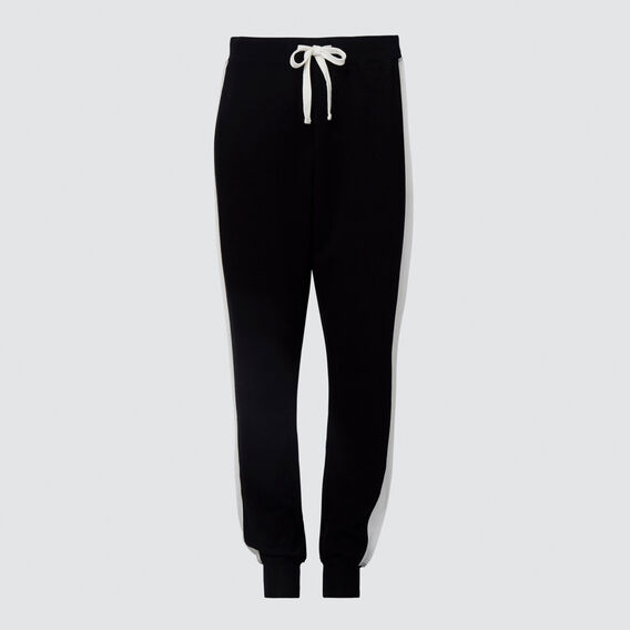 Stripe Track Pant  BLACK  hi-res