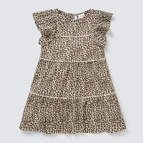 Ocelot Tiered Dress  SAFARI  hi-res