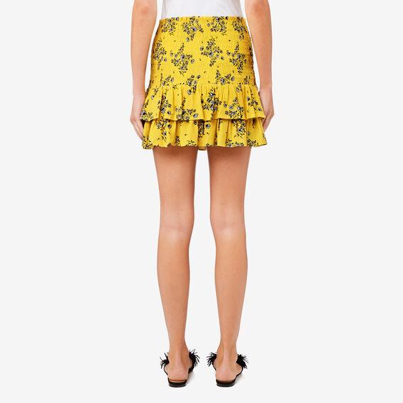Shirred Mini Skirt  MINI FLORAL  hi-res