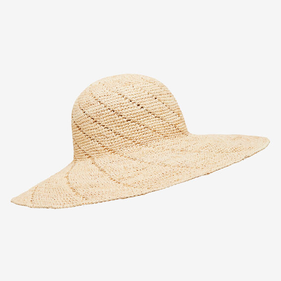Woven Hat  NATURAL  hi-res