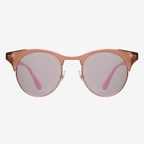 Lana Half Rim Sunglasses  ROSE GOLD  hi-res