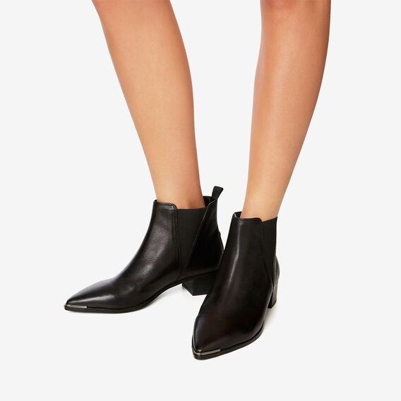 Alissa Pointed Boot  BLACK  hi-res