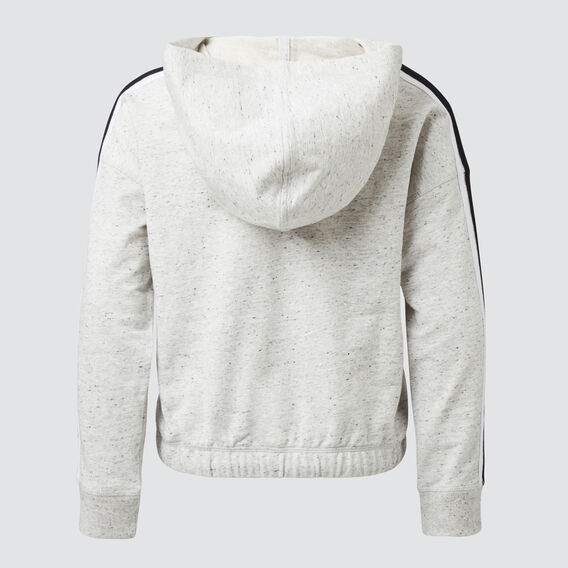 SIDE STRIPE HOODIE  SMOKEY GREY  hi-res