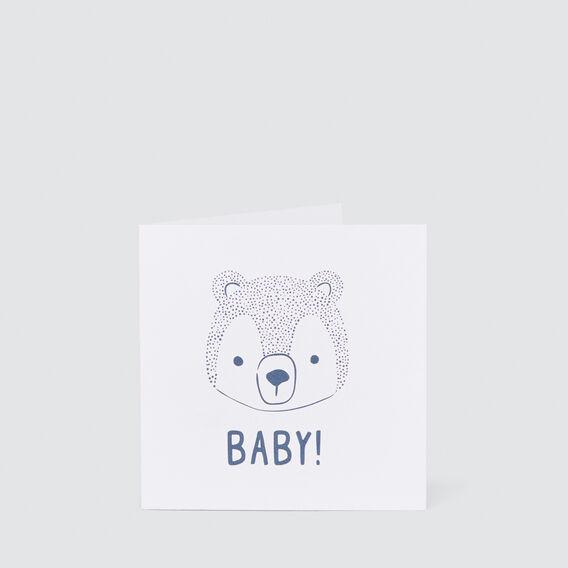 Small Baby Bear Card  MULTI  hi-res