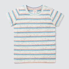 Stripe Rib Tee  MULTI  hi-res