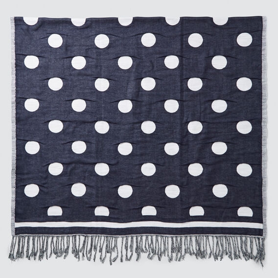 Polka Dot Towel  MIDNIGHT  hi-res