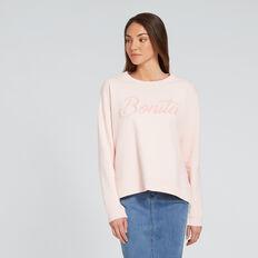 Bonita Sweater  PEACH NOUGAT  hi-res