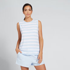 Asymmetric Tank  ALLURE BLUE  hi-res