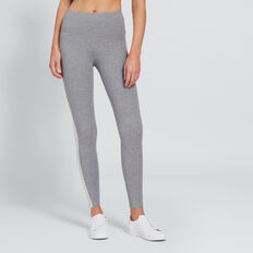 Stripe Full Legging  DARKER SMOKE  hi-res