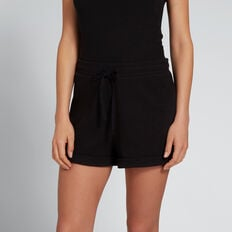 Rib Short  BLACK  hi-res