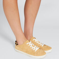 Ollie Leather Sneaker  CAMEL  hi-res