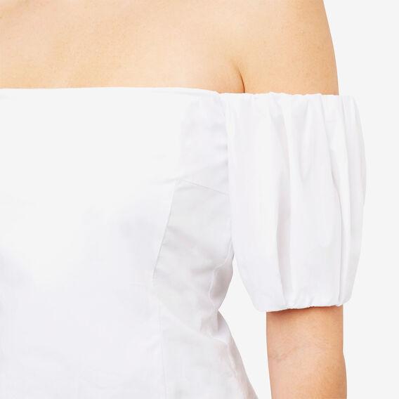 Off Shoulder Bodice  BRIGHT WHITE  hi-res