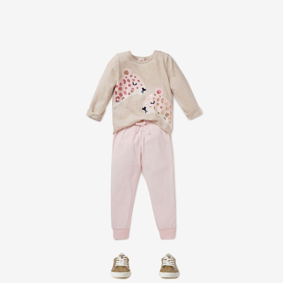 Velour Track Pant  ICE PINK  hi-res