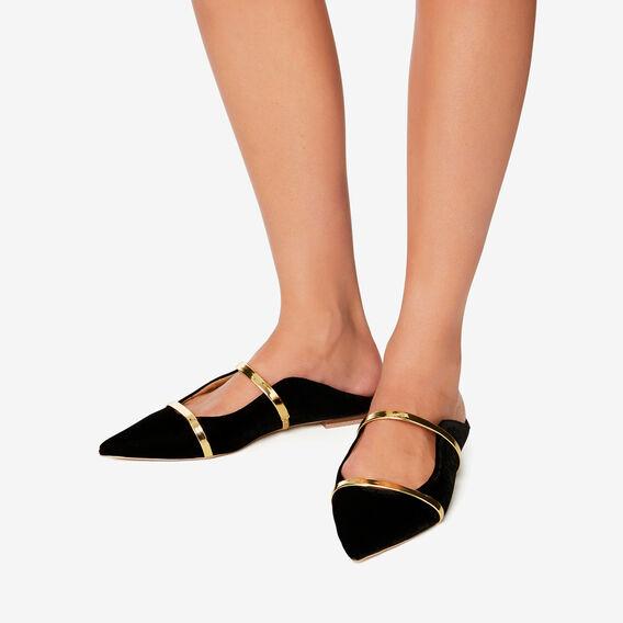 Rachel Dress Flat  BLACK  hi-res