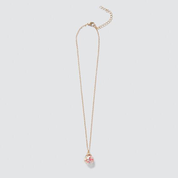 Confetti Ball Necklace  MULTI  hi-res