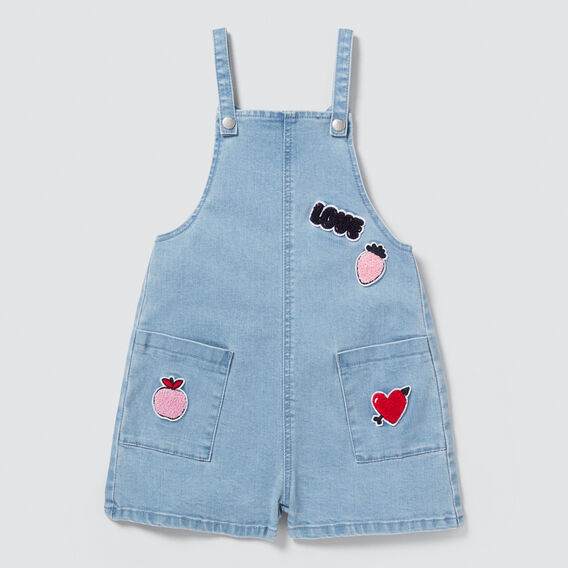 Patch Dungaree  SUMMER BLUE  hi-res