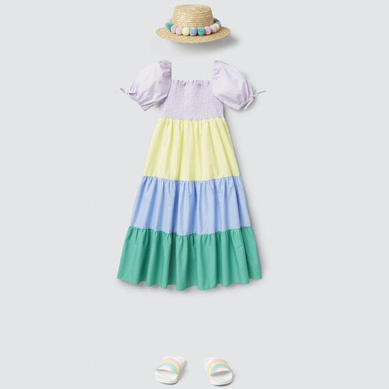 Rainbow Maxi Dress  MULTI  hi-res