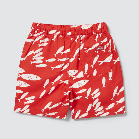 Fish Yardage Short  FIRE ENGINE RED  hi-res