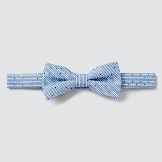 Stripe Dot Bow Tie  PALE BLUE  hi-res
