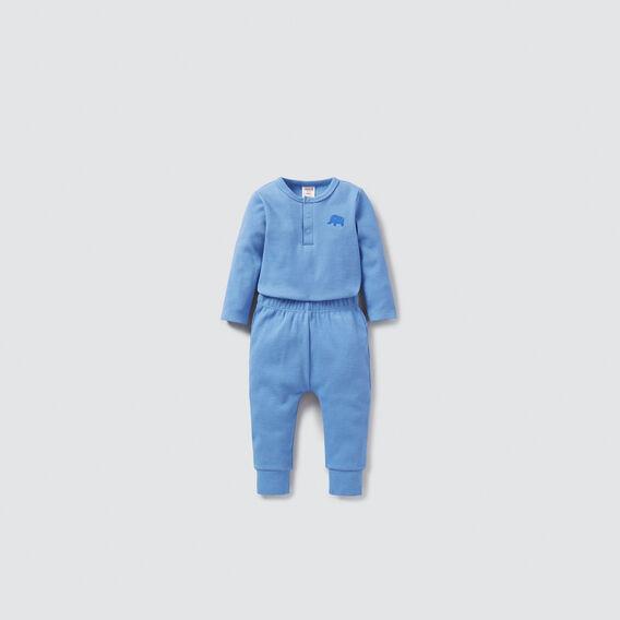 Rib Bodysuit  BRIGHT BLUEBELL  hi-res