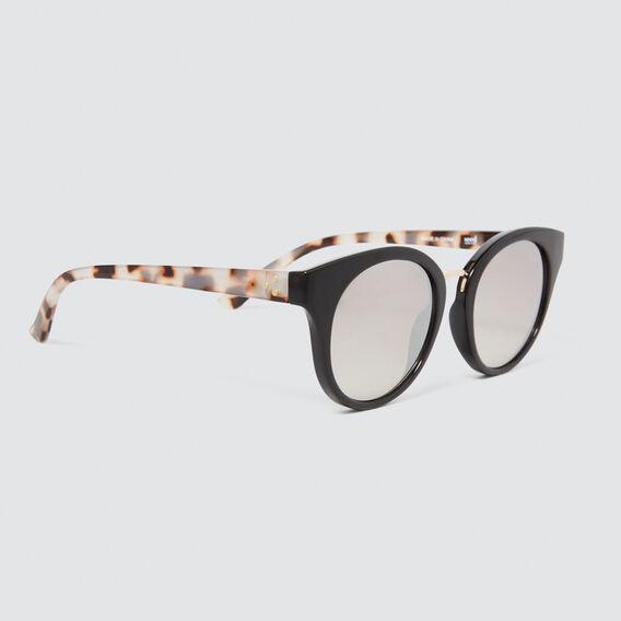Darcy Cats Eye Sunglasses  BLACK  hi-res