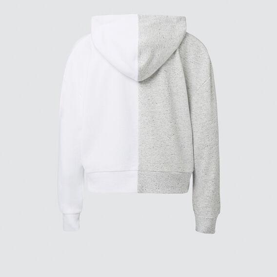 Contrast Hoodie  SMOKEYGREY/SNOWWHITE  hi-res