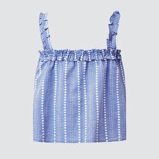 Handloom Top  SKY BLUE  hi-res