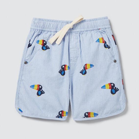 Puffin Stripe Short  CORNFLOWER BLUE  hi-res