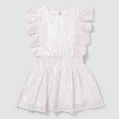 Metallic Stripe Dress  MULTI  hi-res