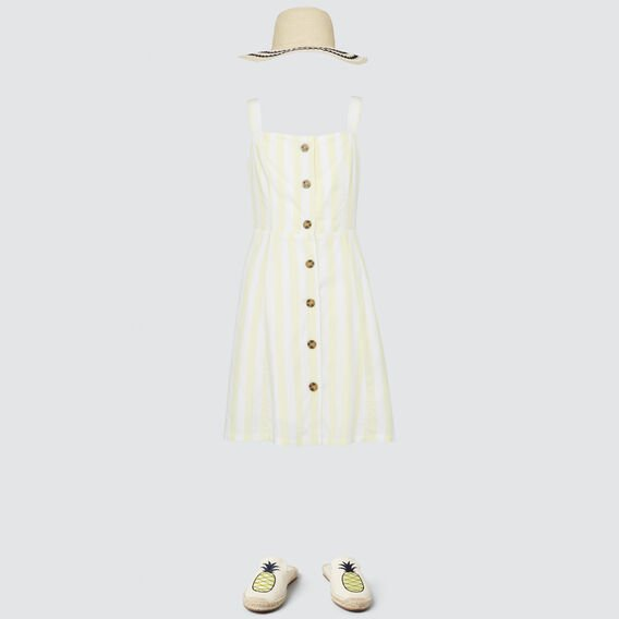 Stripe Day Dress  LIMONATA  hi-res