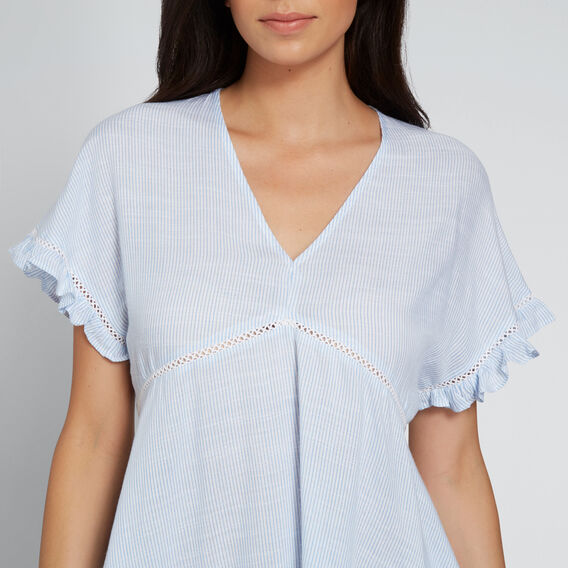 Pretty Hi-Lo Top  STRIPE  hi-res