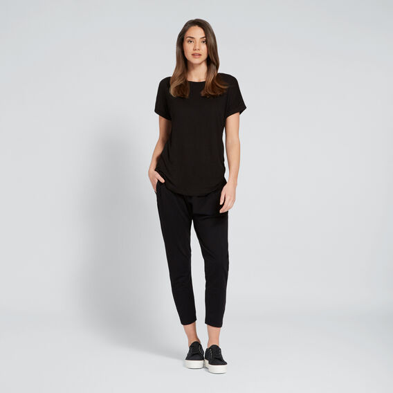 Core Basic Tee  BLACK  hi-res