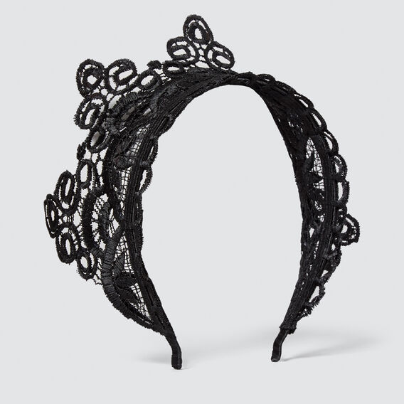 Lace Crown  BLACK  hi-res