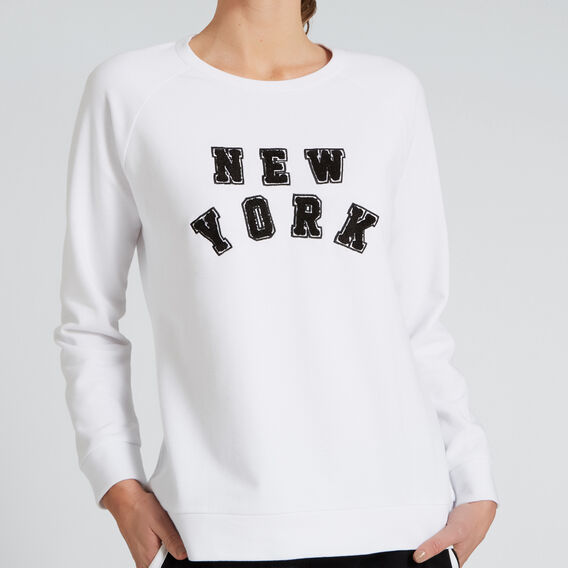 New York Windcheater  SNOW WHITE  hi-res