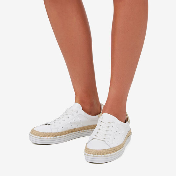Bailey Sneaker  WHITE  hi-res