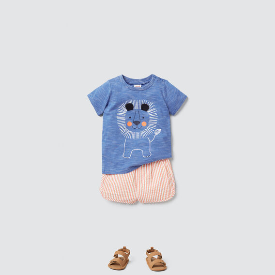 Lion Tee  BRIGHT COBALT  hi-res
